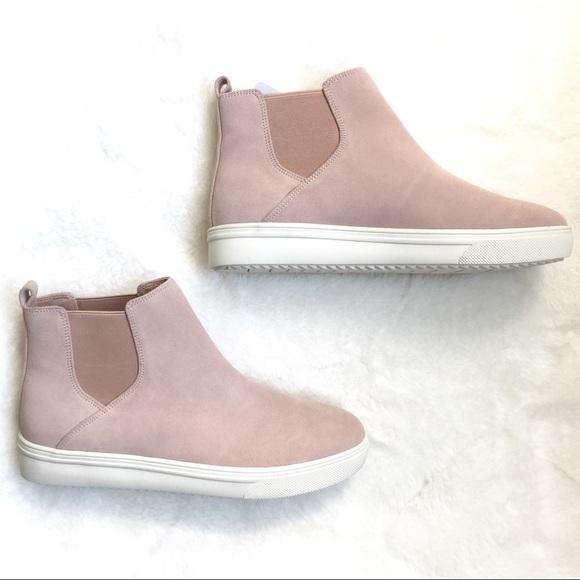 Baxton Waterproof Blush Pink Sneakers